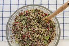 This Citrus Quinoa Salad is full of fun texture and bright flavor.