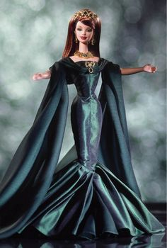 Mattel, Inc (USA) — Empress of Emeralds™ Barbie® Doll, 2000 (572x850)