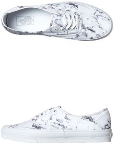 Vans Womens Authentic Marble Shoe
