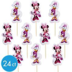 Bento Supplies - Minnie Mouse Fun Picks 24ct
