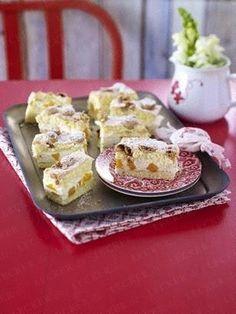 Amarettini-Schnitten mit Mango-Creme Rezept