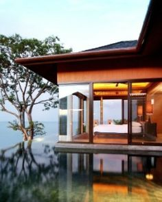 Sri Panwa  ( Phuket, Thailand )  Stay in style in the palatial accommodations, like this One-Bedroom Luxury Pool Villa. #Jetsetter
