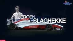 Jeroen Slaghekke (Van Amersfoort Racing) by brandonseaber.deviantart.com on @deviantART