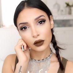 Voici les dix inspirations make-up qui pimenteront votre routine beauté ! Youtubers, Brown Lipstick, Exotic Beauties, Everyday Makeup, Color Of Life, Tumblr Girls, Beauty Make Up, Best Makeup Products, Makeup Looks