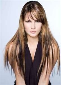 This is what I want my hair to look like!!  Long Hair Highlights Long Brown Hair Highlights Styles  Long ...