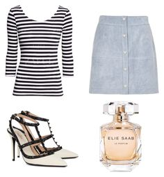 """The me outfit!"" by stevee-elisa ❤ liked on Polyvore featuring River Island, Valentino and Elie Saab"