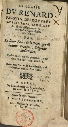 La chasse du renard pasquin - Felix de la Grace - Google Books