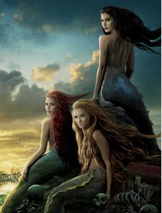 Sirens are supposed to be ugly, but whatever, still amazing.