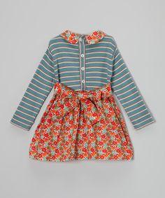 Mabel Calico Organic Peter Pan Dress - Infant, Toddler & Girls