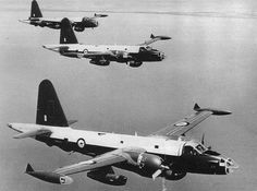A rare image of our antipodean cousins' RAAF Neptunes