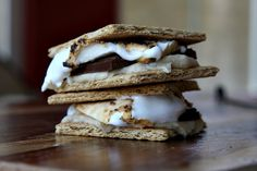 Recipe for Cookie Dough S'Mores- photograph included- from The Cookie Dough Lover's Cookbook. Chocolate Dip Recipe, Homemade Butterfingers, Gourmet Candy, Cookie Dough Recipes, Lunch Snacks, Pumpkin Bread, Just Desserts, Sweet Tooth