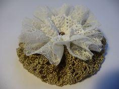 Vintage Blume Shabby Retro Spitze Accessoire Bastelzubehör schmücken verzieren