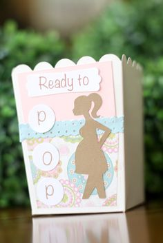 """New """"ready to pop"""" baby shower favor box designs added!"""