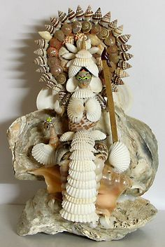 Goddess Saraswati (Shell))