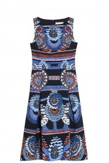 travel print dress by PETER PILOTTO. Available in-store and on Boutique1.com