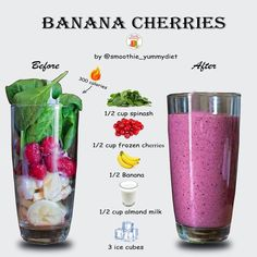 Smoothie Diet Plans, Easy Smoothie Recipes, Easy Smoothies, Shake Recipes, Smoothie Drinks, Smoothie King, 3 Day Smoothie Detox, Breakfast Smoothie Recipes, Green Smoothies