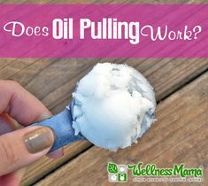 Does Oil Pulling Work & Is it Safe? - Wellness Mama #health #oralhealth