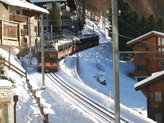 Gornergratbahn (GGB), Bhe 4/8 3053, Zermatt (VS)