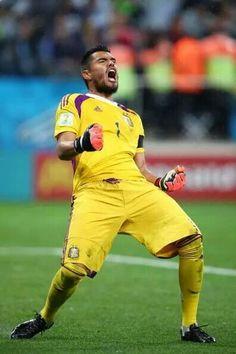 Wohoooo Argentina to world cup final.... HOLLAND VS ARGENTINA SEMI FINAL WORLD CUP 2014