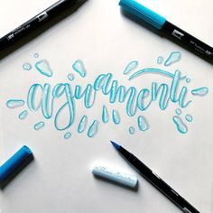 Brush Lettering Quotes, Hand Lettering Styles, Hand Lettering Tutorial, Doodle Lettering, Creative Lettering, Calligraphy Drawing, Calligraphy Letters, Typography Letters, Bullet Journal Font