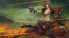 #Miss #Fortune #Riot #revolutionary #Redhair #League #Legends #Lol #Fanart