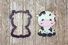Cow Cookie Cutter and Fondant Cutter and Clay Cutter Number Cookie Cutters, Baby Shower Cookie Cutters, Dinosaur Cookie Cutters, Elephant Cookie Cutter, Animal Cookie Cutters, Elephant Cookies, Dinosaur Cookies, Custom Cookie Cutters, Custom Cookies