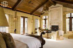 Bedroom - luxurious sanctuary | Robert G. Sinclair Architecture, Inc.