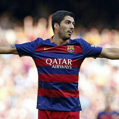 "Luis Suárez: 'We have to keep believing in ourselves'  Luis Suárez: ""Hem de seguir creient en nosaltres mateixos""  Luis Suárez: ""Tenemos que seguir creyendo en nosotros mismos""  #Suarez #FCBarcelona @luissuarez9 @fcbarcelona #igersFCB"