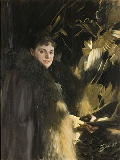 Veronica Heiss by Anders Zorn, 1891. Nationalmuseum Sweden, CC BY-SA