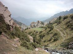 Chugam ravine. Kyrgyzstan. Osh Province.