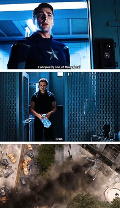 To be fair, Cap never actually asked him if he could LAND...
