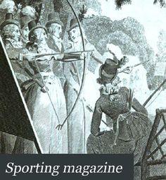 Sport naukowo - zobacz sport z innej strony: Gazeta sportowa z XVIII wieku