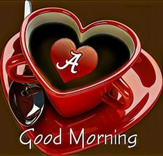 Alabama Football, Roll Tide, Crimson Tide, Good Morning, Tea Cups, My Favorite Things, Tableware, Coffee, Good Day