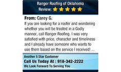 If you are looking for a roofer and wondering whether you will be treated in a Godly...
