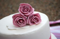 Passion 4 Baking:  Wedding cake decorations - Course (tutorial & video)