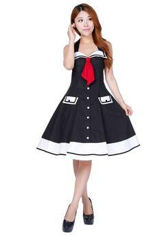 CSTD Damen Kleid Rockabilly 50er 60er Jahre Petticoat Gothic Lolita Pin Up 36-58 in Kleidung & Accessoires, Damenmode, Kleider | eBay