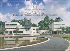 Edificio de Filosofía y Edificio de Posgrados de Ciencias Económicas, via Flickr.