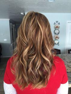 Hairtwist: Warm dark blonde with golden blonde Highlights