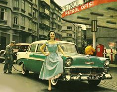petrol ofis reklam çekimi 1959 taksim Volkswagen, Istanbul Pictures, Central Asia, Ottoman Empire, History, City, 1950s, Vintage Ads, Cities