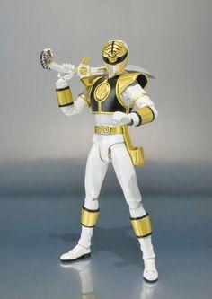 Bluefin Tamashii Nations - The White Ranger.
