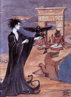 Sandman: Weighing of the Heart by ~ratcreature on deviantART