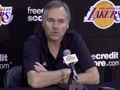 Mike D'Antoni says the Lakers are built to win this year