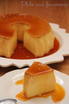 """Ah ce dessert je l'aime, je l'aime, je l'aime et en plus il est d'une simplicité enfantine. D'ailleurs je dis """" pudim portugais """" mais en..."""