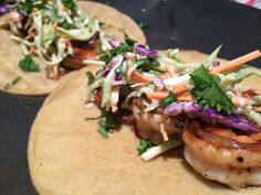 Maple Shrimp Tacos