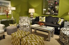 Image from CR Laine Furniture's Fall 2012 #HPMKT showroom.