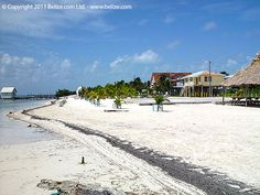 Belize Photo Gallery / ambergriscaye-san-pedro-beach.jpg