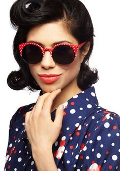 July 2013 fashion forecast: 'Peacock eyes' to patriotic pin-up looks