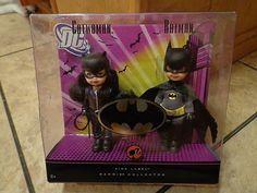 2008 Mattel Barbie Kelly Dolls Catwoman Batman New Pink Label | eBay