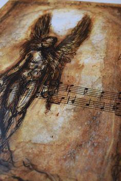 Fallen Angel Digital print Premium Satin Photo Paper 300 gm | Etsy #fallenangel #bookofenoch #angel #fallen #enoch biblical Mystic, Digital Prints, Angel, Fall, Fingerprints, Autumn, Angels