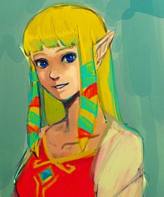 Zelda (from Skyward Sword)
